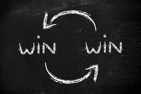stakeholder: concept of Win Win solutions, exchanging agreement