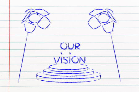 our vision: our business vision, spotlights design