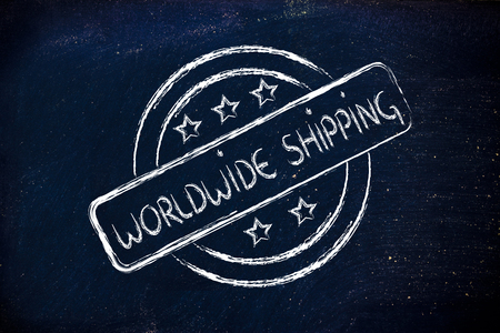 initiative: logo for an initiative of worldwide shipping