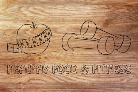 soul food: fitness lifestyle and healthy food, taking care of mind body and soul