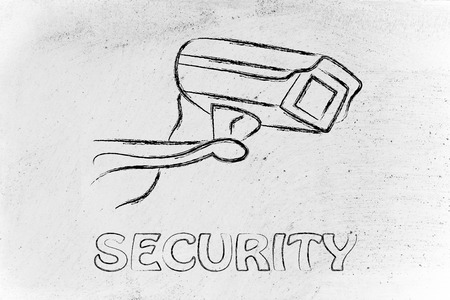 hidden danger: security and property protection: design of a cctv security camera