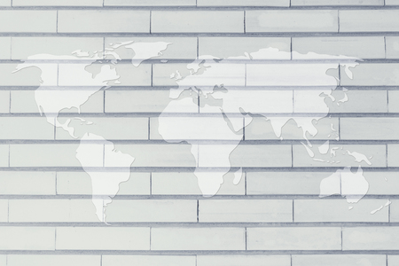 nakładki: background with an overlay of the map of the world Zdjęcie Seryjne