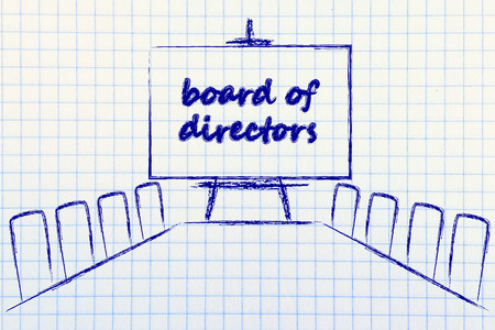 board of directors, meeting room with long table and whiteboard 版權商用圖片
