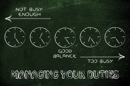 enough: managing your duties: find a good balance between too busy and not enough