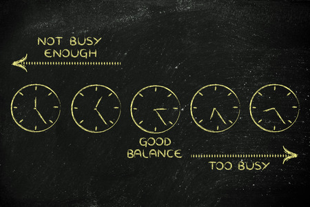 enough: scheduling: find a good balance between too busy and not enough