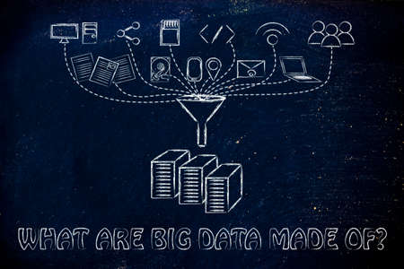 geotag: concept of big data: what are they made of?
