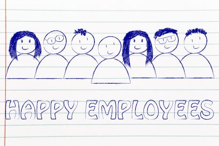 human capital: workforce and human capital: happy employees