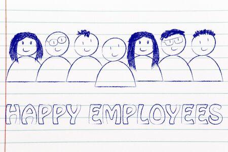 employee satisfaction: workforce and human capital: happy employees