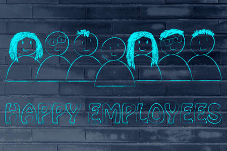 happy employees: workforce and human capital: happy employees