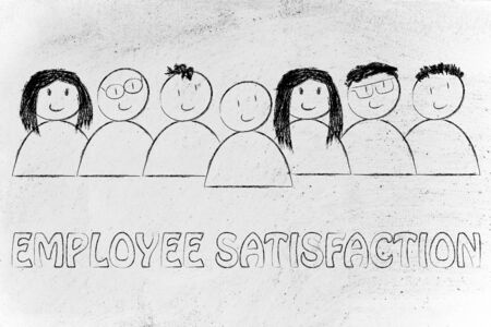 competitive advantage: we heart our team: employee satisfaction