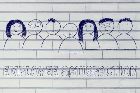 skills diversity: we heart our team: employee satisfaction