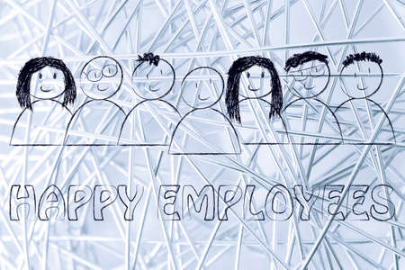 workforce: workforce and human capital: happy employees