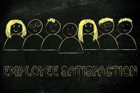 employee satisfaction: we heart our team: employee satisfaction