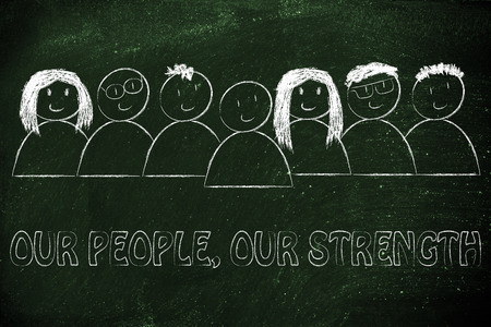 our people: business communication & public relations: our people, our strength message