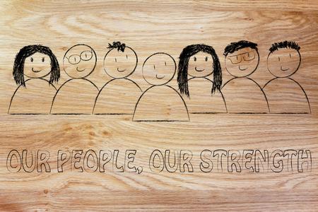 relaciones publicas: la comunicación empresarial y relaciones públicas: nuestra gente, nuestra fuerza mensaje
