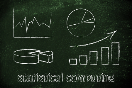 statistical: statistical computing: illustration with different types of graphs