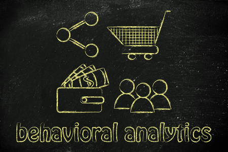 behavioral: behavioral analytics for marketing: clients, wallet, shopping cart and sharing button