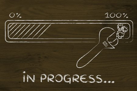 solucion de problemas: la soluci�n de problemas en curso: barra de progreso y los par�metros de la llave de ajuste