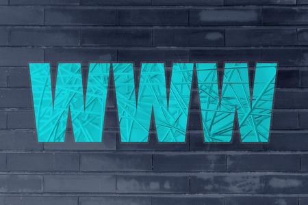nakładki: WWW with metallic net overlay Zdjęcie Seryjne