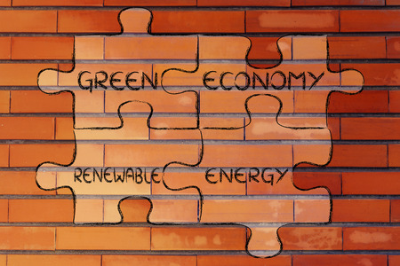 land management: elements of ecology as pieces of puzzle: green economy and renewable energy