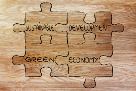 sustainable development: elements of ecology as pieces of puzzle: sustainable development and green economy