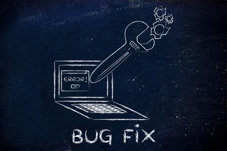 solucion de problemas: Correcci�n de errores y soluci�n de problemas mal funcionamiento: Llave de gran tama�o que salen de la pantalla del port�til