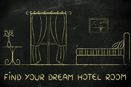 accomodation: travel and accomodation industry: find your dream hotel room