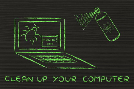 rid: clean up your system: getting rid of computer bugs with a funny spray