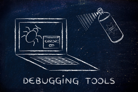 debugging tools: getting rid of computer bugs with a funny spray