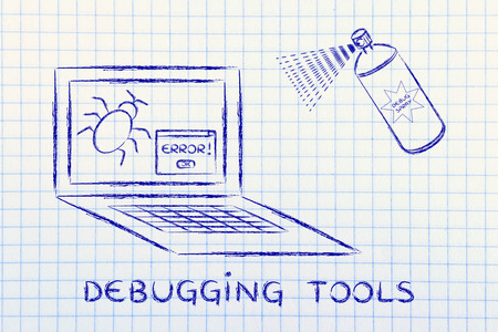malfunction: debugging tools: getting rid of computer bugs with a funny spray