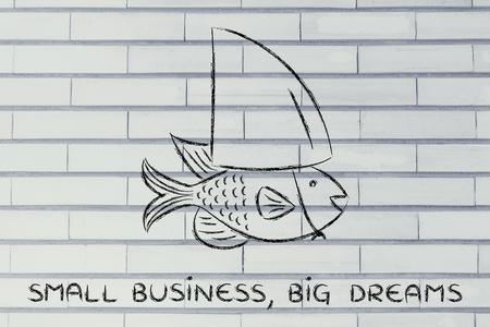 small business, big dreams: small fish pretending to be a shark