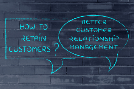 shopping questions: question and answer: how to retain customer? better crm