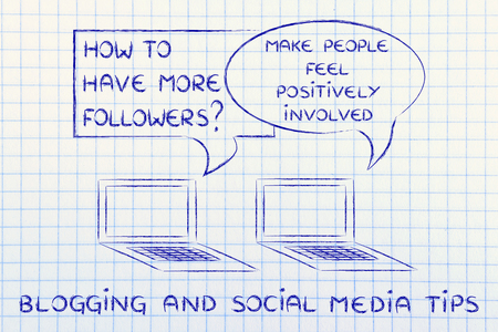 involve: digital marketing, blogging and social media tips: involve people positively