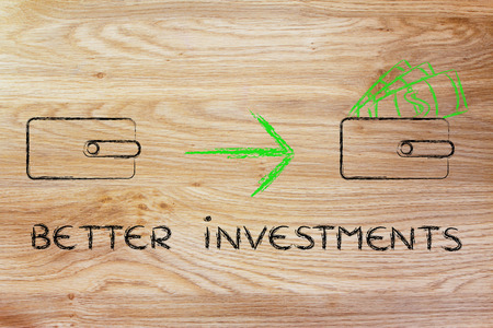 how to: how to make better investments: closed wallet going from empty to full