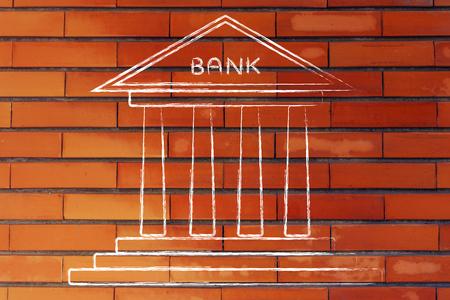 bankkonto: Konzept der Auswahl der besten Bankkonto f�r Ihre Bed�rfnisse Lizenzfreie Bilder