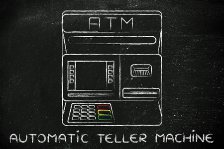 automatic teller machine bank: finance and banking services: design of an atm bank