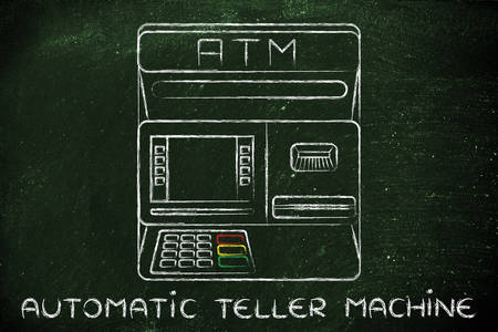 automatic teller: finance and banking services: design of an atm bank