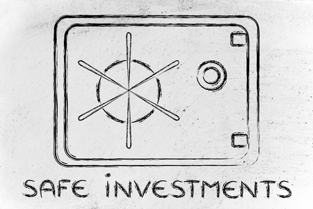 safe investments: finance and investments: design of a bank or home safe