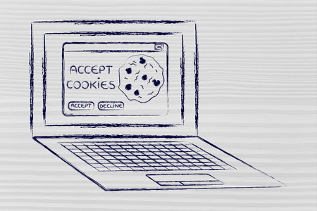 popup: browser settings: pop-up message to accept cookies
