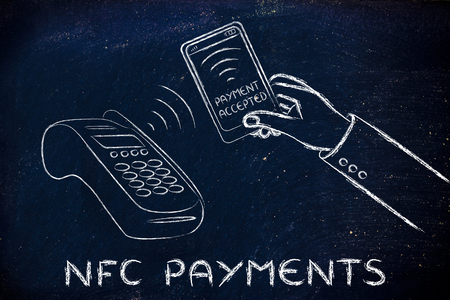 internet terminals: nfc and payment technology: paying with a smartphone