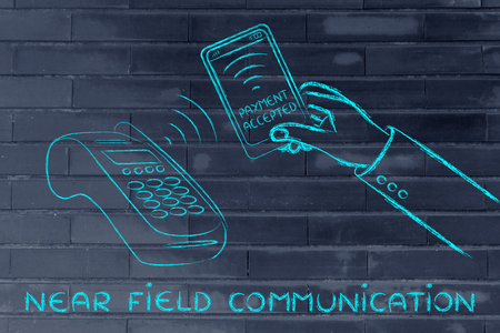 internet terminals: near field communication and payment technology: paying with a smartphone