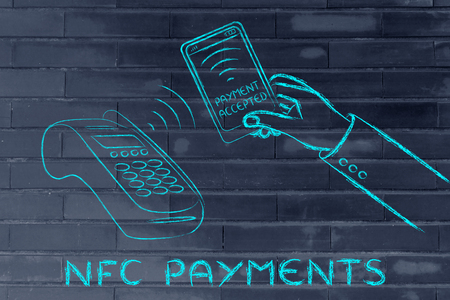 nfc: nfc and payment technology: paying with a smartphone