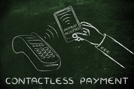 contactless: contactless payment technology: purchasing with a smartphone