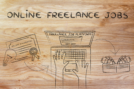 freelance: online freelance jobs: from diploma to laptop to cash