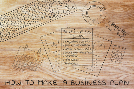 How to make a business project