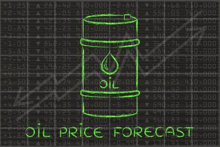 Prévisions des prix du pétrole: le baril au cours bourse performance de l'indice de fond