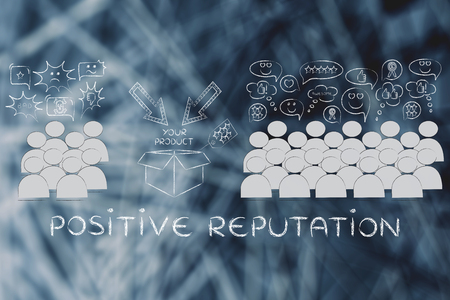 opinions: positive reputation: most people with good opinions about the product and a few disliking it