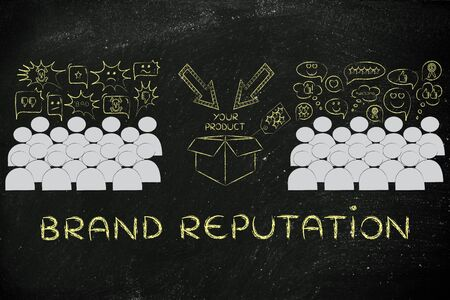 opinions: Brande Reputation: people divided in 2 sections with opposite opinions about a product