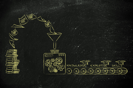 master degree: machine elaborating books into knowledge, expertise and skills