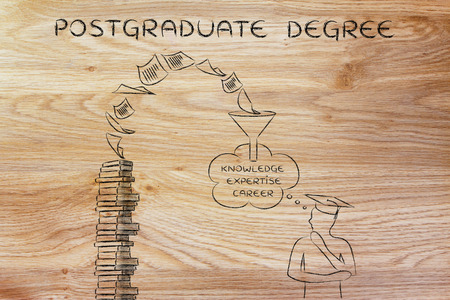 postgraduate: Postgraduate degree: pages turning into career potential for a graduate student